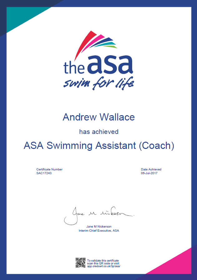 Swim Pembrokeshire qualified swim coaching