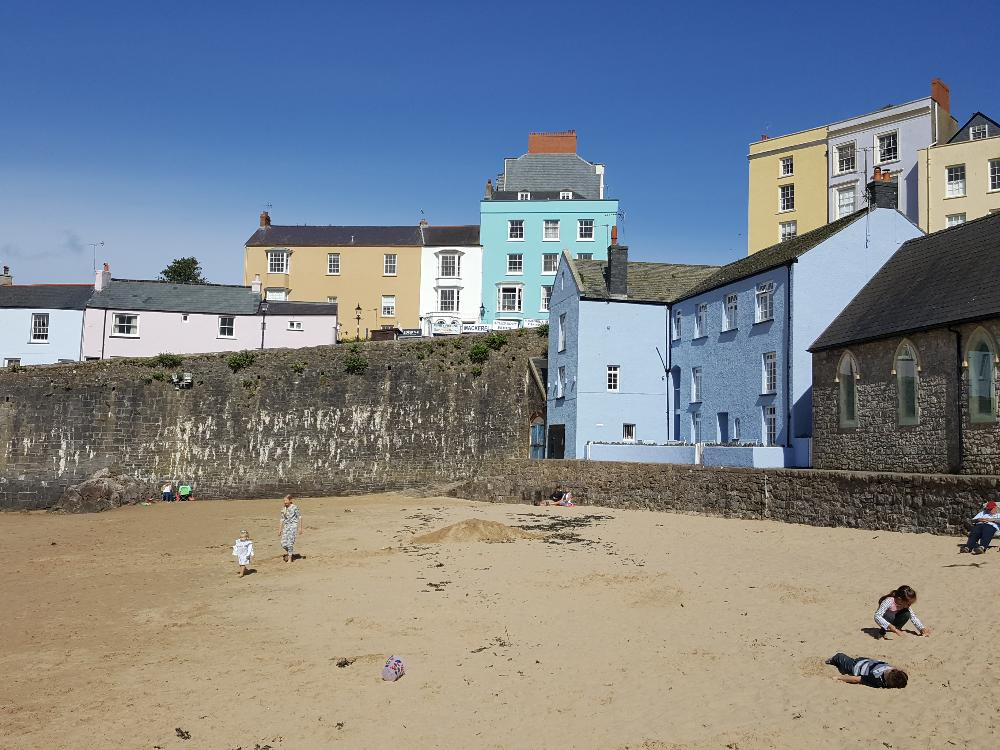 Tenby is a popular beach side town in Pembrokeshire