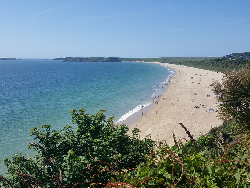 How Long Is South Beach Tenby